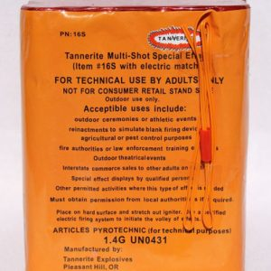 16S Special Effects by Tannerite Explosives